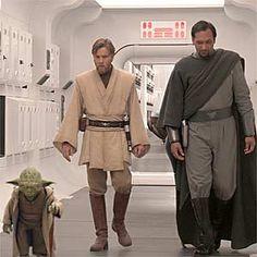 Yoda, Obi-Wan, and Bail
