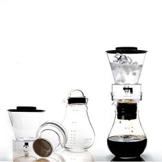Maison Maxx Glass Cold Drip Brew Iced Dutch Brew Coffee Maker Machine,Tea Maker with Airtight Lid and Removable Stainless Steel Filter, 4 Cups(1000ml) *** Read more  at the image link.