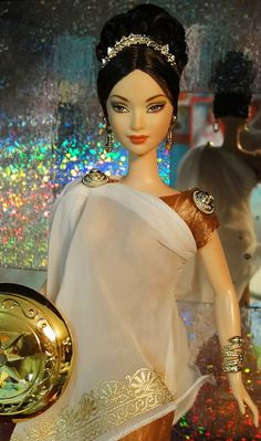 Princess of Ancient Greece Barbie by possiblezen, via Flickr