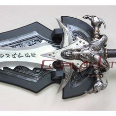 #WOW - Lich King #Frostmourne #Game #Cosplay