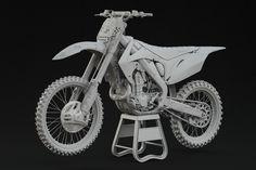 ArtStation - Honda CRF450R TwoTwo Motorsports (Motocross bike), Jonathan Vårdstedt
