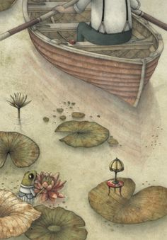 Marco Somà, La regina delle rane non può bagnarsi i piedi