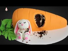 Fat Easter Bunny Carrot Cake Tutorial! - YouTube