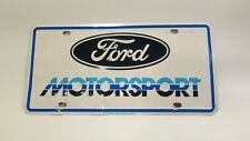 Vintage Ford Motorsport 1985 License Plate Ford Motorsport