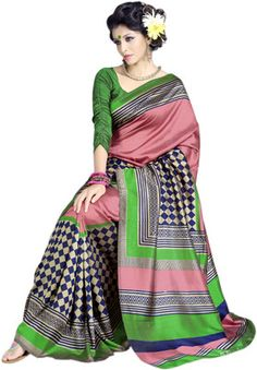 Buy Sunaina Printed Art Silk Sari Online at Best Offer Prices In India. Only Genuine Products. 30 Day Replacement Guarantee. Free Shipping. Cash On Delivery!
