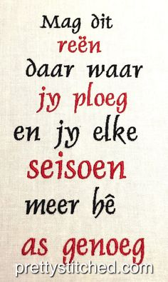 Afrikaanse Quotes, Goeie More, Special Quotes, Sd, Inspirational Quotes, Messages, Crafty, Recipes, Africans