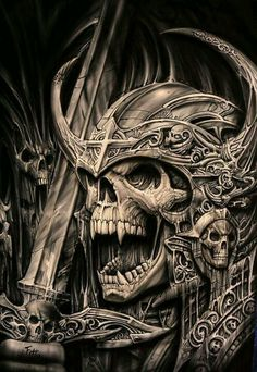 Norse Skeleton Warrior