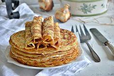 ΖΥΜΗ ΓΙΑ ΚΡΕΠΕΣ - Pancakes, Cookies, Breakfast, Ethnic Recipes, Sugar, Foods, Friends, Salads, Crack Crackers