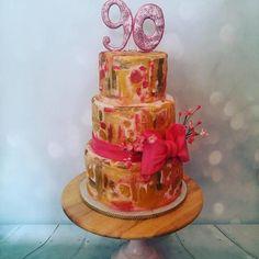 Klimt Cake - Cake by Bespoke Cakes