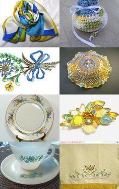 Springtime - Teamvintageusa by Marsha on Etsy--Pinned with TreasuryPin.com