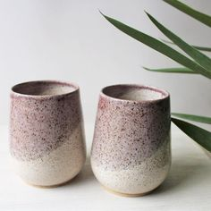 Some light pink tumblers on this rainy day! So glad its Friday ? I love teaching my students but I think Halloween this week made them a Ceramic Clay, Ceramic Bowls, Ceramic Pottery, Pottery Art, Stoneware, Pottery Ideas, Clay Studio, Ceramic Studio, Ceramics Projects