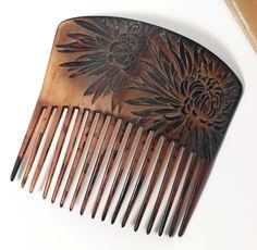1900-1905 René Lalique Hair Comb