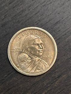 Rare US one dollar Gold coin. One Dollar, Dollar Coin, Old Coins Worth Money, Sacagawea Dollar, Coin Worth, Gold Coins, Craft Supplies, Ethiopia, Etsy
