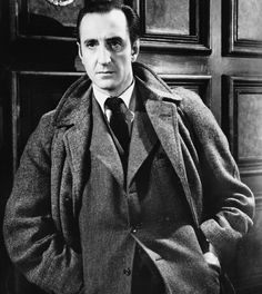 When Basil Rathbone played Sherlock Holmes, he always had his coat collar turned up when wearing it. Incidentally, Mark Gatiss and Steven Moffat's favorite Holmes before their Sherlock is Basil Rathbone.