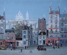 michel delacroix is my absolute favorite artist. his paintings--mainly of france are so detailed and so fun. expensive tho.