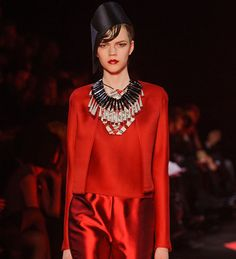 Image detail for -PFW Armani Prive 2013 Couture