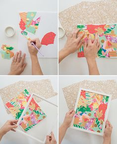 what to do with leftover wrapping paper... - Oh Joy!
