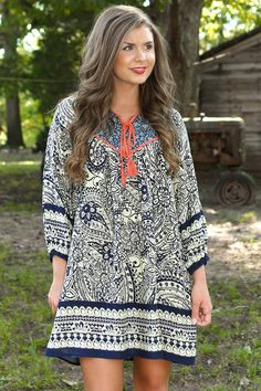 Someday Soon Dress-Navy - New Today   The Red Dress Boutique