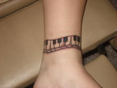Piano keys Tattoo by shagoon.deviantart.com on @deviantART
