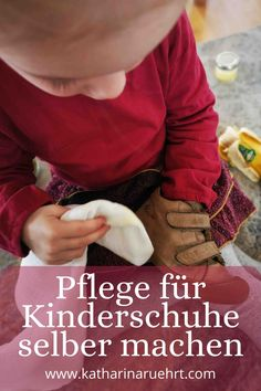 Lederpflege, Schuhcreme selber machen Natural Cleaners, Shoe Polish, Cleaning Agent, Kid Shoes, Homemade, Tips