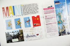 Real Time Scrapbook Layout | Disney Layout 03Real Time Scrapbook Layout | Disney Layout 03