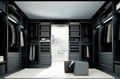 Senzafine walk in cabinet by poliform