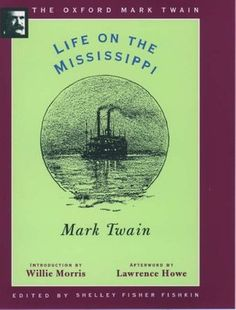 Life on the Mississippi by Mark Twain Mark Twain, Got Books, Book Recommendations, Mississippi, Reading, Movie Posters, Life, Film Poster, Word Reading
