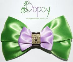 Hey, I found this really awesome Etsy listing at http://www.etsy.com/listing/121587354/dopey-hair-bow