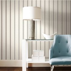 Ruffle Wallpaper by Walt Disney Signature from York Wallcoverings Walt Disney Signature, Disney Wallpaper, House Design, Interior Design, Modern, Pattern, York Wallcovering, Home Decor, Couch