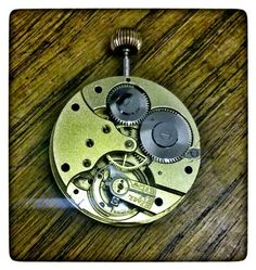 B&Co Pocket watch movement Baume...