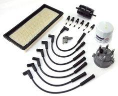 Ignition Tune Up Kit, 2.5L; 99-02 Jeep Wrangler TJ