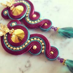 Orecchini soutache / soutache earrings