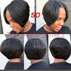 Great Tips For Maintaining Healthy Hair - Lifestyle Monster Black Bob Hairstyles, Quick Weave Hairstyles, Pretty Hairstyles, Bob Haircuts, Curly Hair Styles, Natural Hair Styles, Queen Hair, Girls Braids, Relaxed Hair