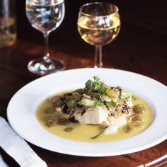 Sea Bass with Grapes | SAVEUR