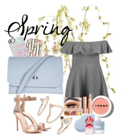 Spring day by chasiteymarie on Polyvore featuring polyvore, fashion, style, Boohoo, Gianvito Rossi, Topshop, Call it SPRING, Casetify, LORAC, Marc Jacobs, Pier 1 Imports and clothing