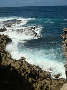"""Angry Sea""   Gris Gris, Mauritius (http://www.facebook.com/BeautyOfMauritius)"