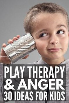 30 Play Therapy Activities for Kids   30 simple therapeutic activities for children you can use in a counseling setting or at home to help a child express their emotions surrounding a trauma or ongoing feelings of anxiety. Perfect for toddlers, kids in preschool, school-aged kids, for tweens and teens, and kids with autism, ADHD, and anxiety, these activities offer a great way to teach healthy anger management and coping skills. #kidstherapy #anxiety #angermanagement #mentalhealth