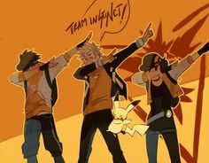 Team Instinkt! ;3 (I had to this is too cute! I deeply apologize to my team)