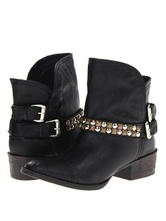 Stacked Heel Studded Ankle Boot $79