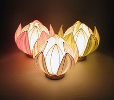 Very nice and unique Origami Lantern - http://www.ikuzoorigami.com/very-nice-and-unique-origami-lantern/