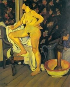 Woman at Her Toilette - Suzanne Valadon - The Athenaeum