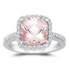 pink engagement ring...thats awesome