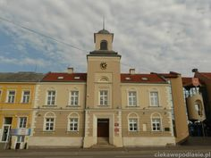 Ratusz w Łomży z 1822r. Mansions, House Styles, City, Town Hall, City Office, Villas, Cities, Palaces, Mansion
