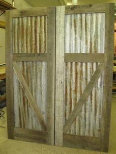 RLP Reclaimed Sliding Track Barn Doors