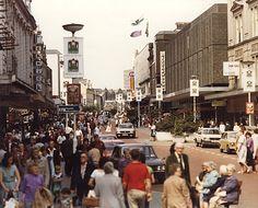 Northumberland Street 1980.