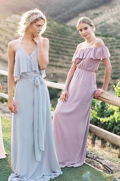 21 Ideas For Rustic Bridesmaid Dresses ❤ rustic bridesmaid dresses pastel long mismatched joanna august ❤ Full gallery: https://weddingdressesguide.com/rustic-bridesmaid-dresses/ #wedding #bride #rusticwedding #bridesmaiddress