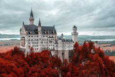 Neuschwanstein Castle, South Germany, Visit with Munich