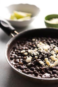 Cafe Rio Black Beans and Cilantro Lime Rice