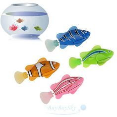 4xBattery Powered Electric Pet Fish Clownfish Electric Gift  Kid Bath Shower Toy - http://hobbies-toys.goshoppins.com/electronic-battery-wind-up-toys/4xbattery-powered-electric-pet-fish-clownfish-electric-gift-kid-bath-shower-toy/