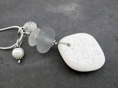 Check out our sea glass necklace selection for the very best in unique or custom, handmade pieces from our shops. Sea Glass Necklace, Glass Earrings, Sea Glass Jewelry, Pendant Earrings, Ring Earrings, Beach Jewelry, Jewelry Sets, Jewelry Necklaces, Shell Beach